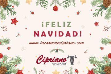Feliz Navidad La Carne de Cipriano