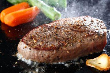 espuma al cocinar carne